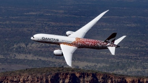 Qantas is offering a seven-hour flight to nowhere. (Courtesy Qantas / CNN)
