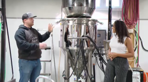 We learn the operations of a brand new brewery in Lumsden