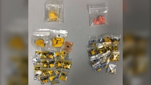 Yorkton RCMP seized 28.5 grams of fentanyl from a residence in Yorkton on September 13, 2020. (Supplied: Yorkton RCMP)