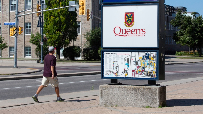 Queen's University will come down on partiers