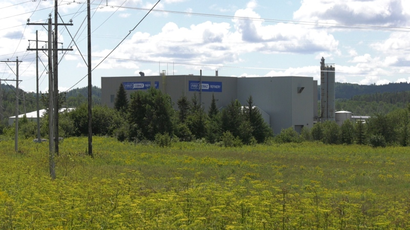 Plans are underway to recommission the First Cobalt Refinery (Lydia Chubak/CTV Northern Ontario)