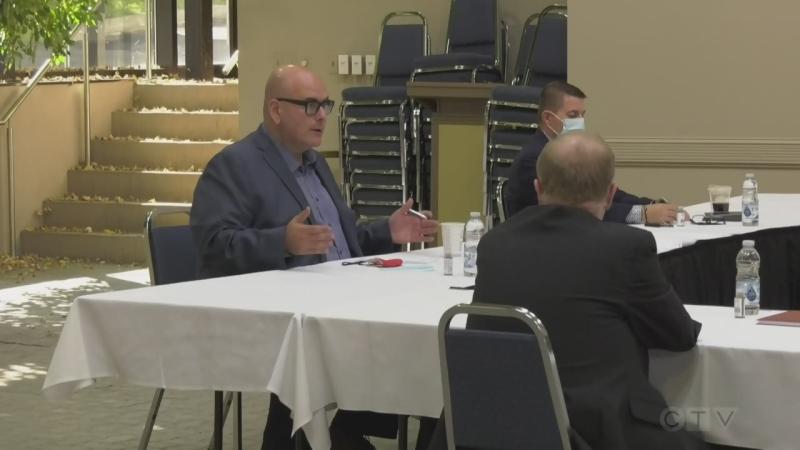 Ontario Liberal Leader Steven Del Duca in Sudbury