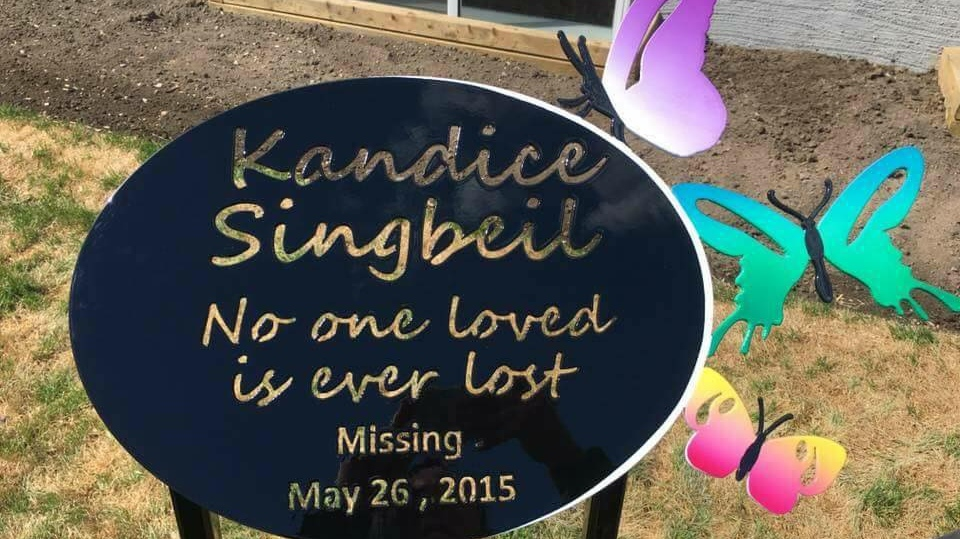 Kandice Singbeil was last seen in 2015.