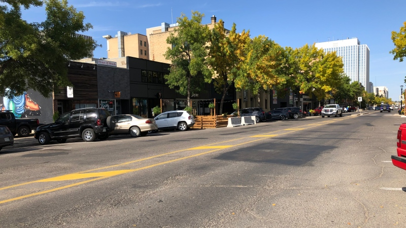 Downtown Saskatoon is pictured Sept. 17, 2020. (Pat McKay/CTV Saskatoon)