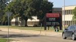 McNally School in Edmonton. (John Hanson/CTV News Edmonton)