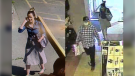 Military police at Canadian Forces Base Comox are asking the public for help identifying two people who they say may have information relevant to an ongoing investigation. (12 Military Police Flight)
