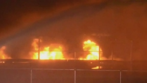 Arson arrest in New Westminster fire