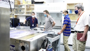 The Astronomical Instrumentation Group at the University of Lethbridge has received funding to build a large facility cryostat that would be able to evaluate the performance of instruments destined for space exploration