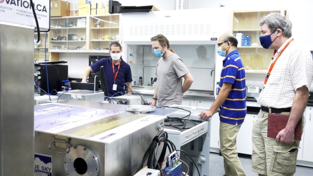 University of Lethbridge at the leading edge of space instrument testing