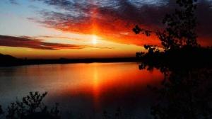 Amazing Blumenort sunset. Photo by Alvera Brandt.