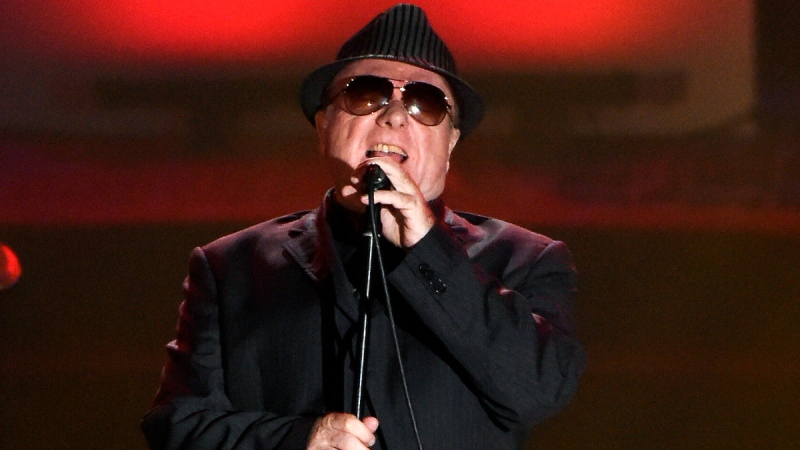 Van Morrison performs in New York, on June 18, 2015. (Evan Agostini / Invision / AP, File)