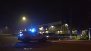 One man is in hospital after what appears to be a targeted shooting in a Surrey neighbourhood.