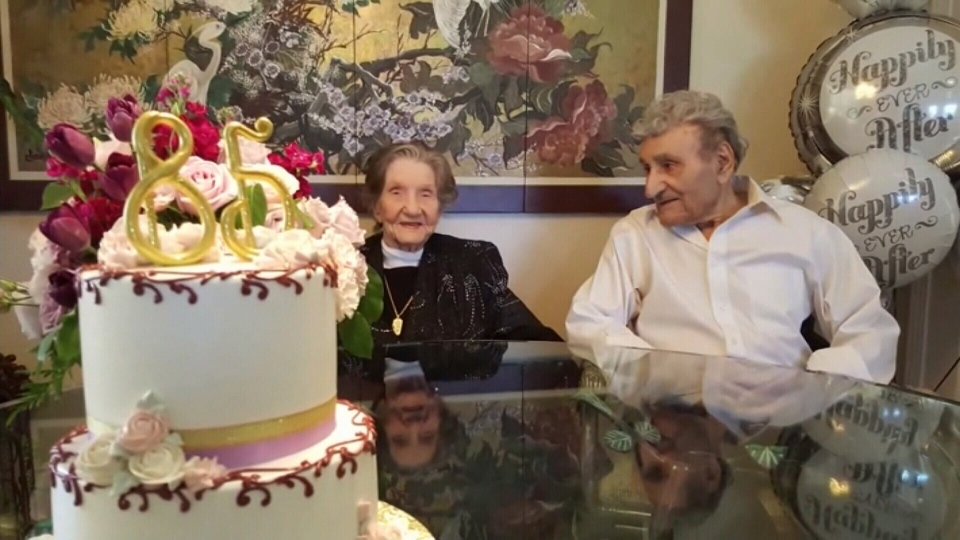 Ralph and Dorothy Kohler celebrate 85 years of marriage.
