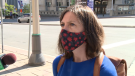 Ottawa's medical officer of health Dr. Vera Etches speaks to reporters in Ottawa and says we are now in the second wave of the COVID-19 pandemic, after people got a little too relaxed with COVID-19 measures in August.
