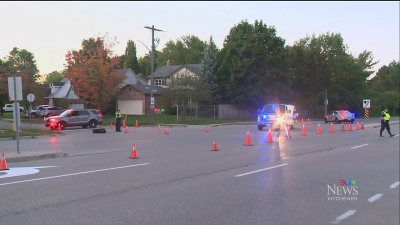 Pedestrian, 64, airlifted after crash