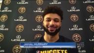 Jamal Murray readies for Game 1 against LA Lakers