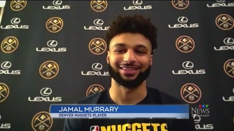 Jamal Murray readies for Game 1 against LA Lakers