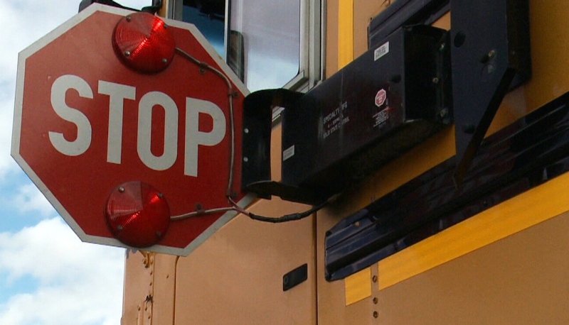 Starting Monday, wearing a mask on school buses in Greater Sudbury will be mandatory. (File)