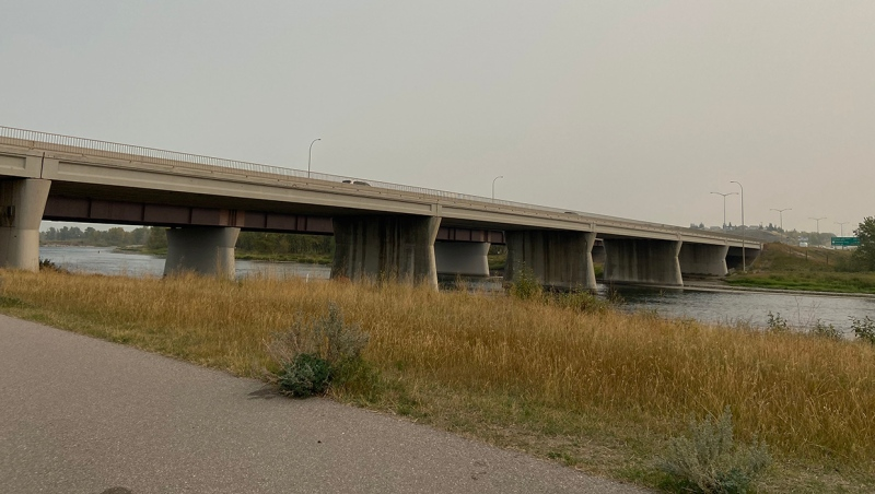 The eastbound Stoney Trail bridge spanning the Bow River in southeast Calgary will be replaced after the province committed $70 million to the project on Sept. 18, 2020