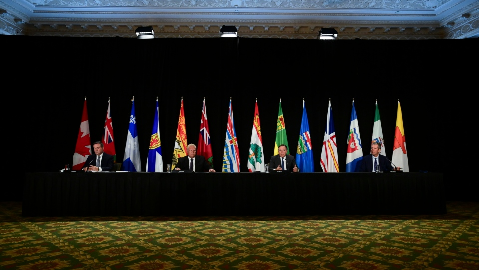 Premiers meeting in Ottawa