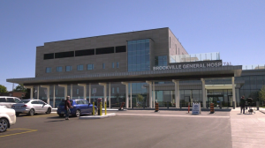 Ontario is providing $973,000 to the Brockville General Hospital for maintenance and repairs. (Nate Vandermeer/CTV News Ottawa)