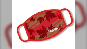 The proceeds from the masks, partly go to the legion itself, but also to the poppy fund, which helps veterans and their families. (Source: The Royal Canadian Legion)