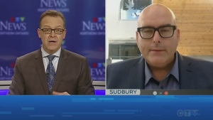 Tony Ryma and Ont. Liberal leader Steven Del Duca