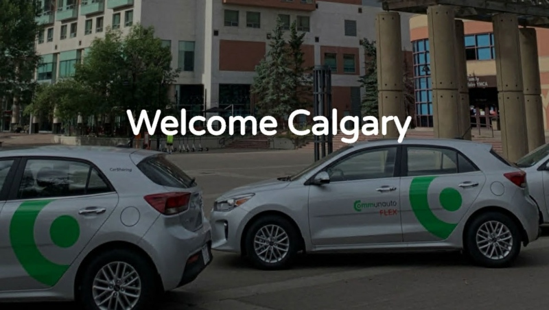 Montreal-based Communauto will officially launch in Calgary Saturday, with 100 vehicles on the street. (Supplied)