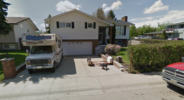 75 Patterson Crescent in Red Deer. (Source: Google Street View, 2014)