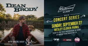 Win A Car Pass to the Dean Brody Drive-In Concert