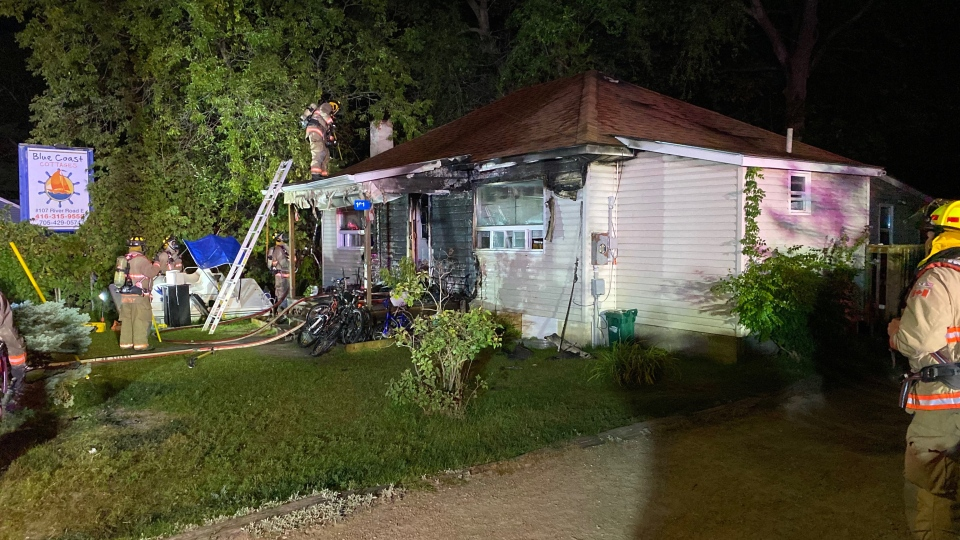 Wasaga Beach house fire
