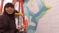 Local artist brightening Kitchener-Waterloo