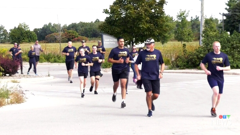 Special Olympics virtual torch run
