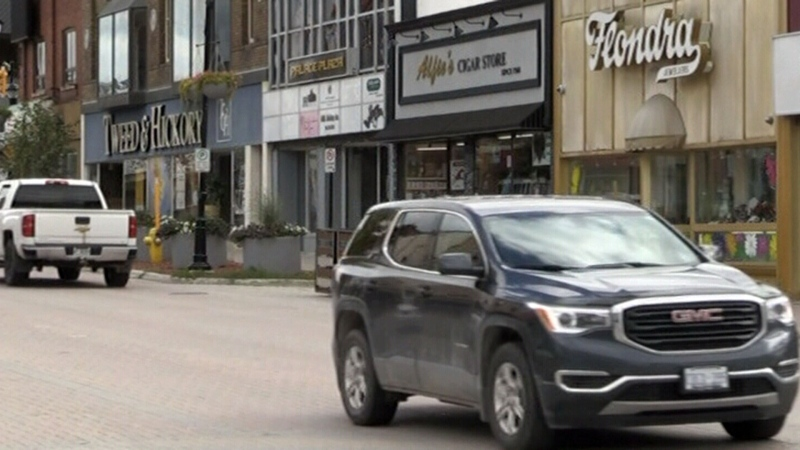 Foot patrols for downtown Timmins