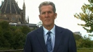 A photo of Manitoba Premier Brian Pallister in Ottawa.
