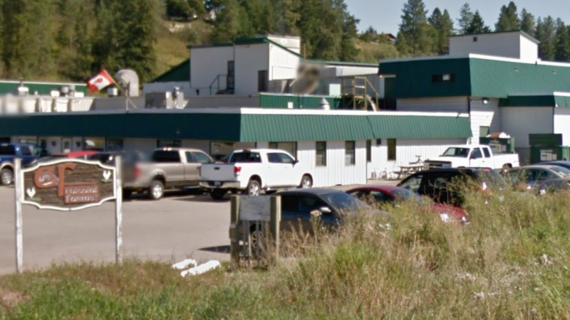 The Colony Farms Ltd. poultry processing plant in Armstrong, B.C. is seen in an undated Google Maps image.