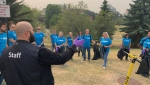 More than 2,000 volunteers are taking part in an event to help clean up Calgary's river banks and pathways.