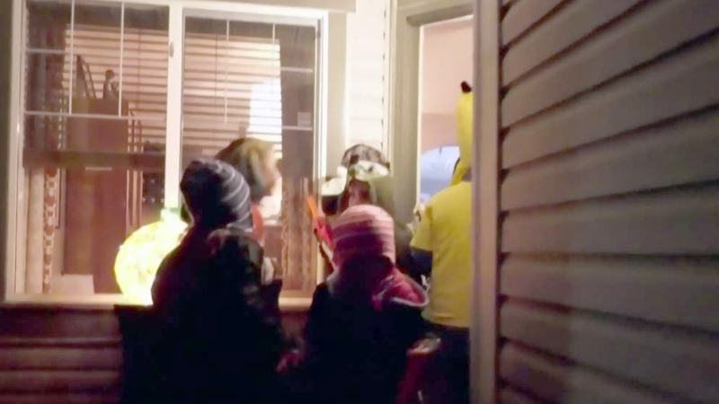 Trick-or-treating in a pandemic