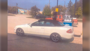 Stonewall RCMP is searching for a stolen vehicle. (Source: Twitter/RCMP Manitoba)