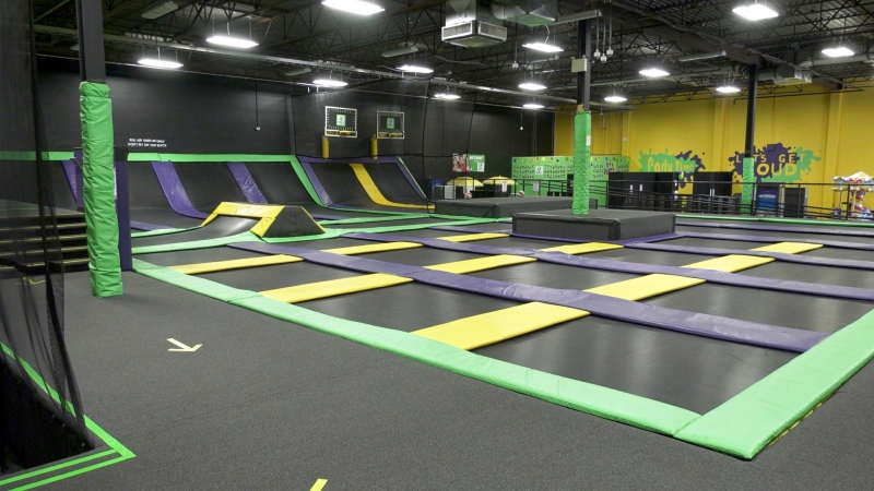 Jump LA has more than 20,000 square feet of space and capacity for 50 people.