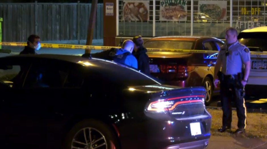 Investigators were on scene Friday night in Richmond after what they say was a targeted shooting.