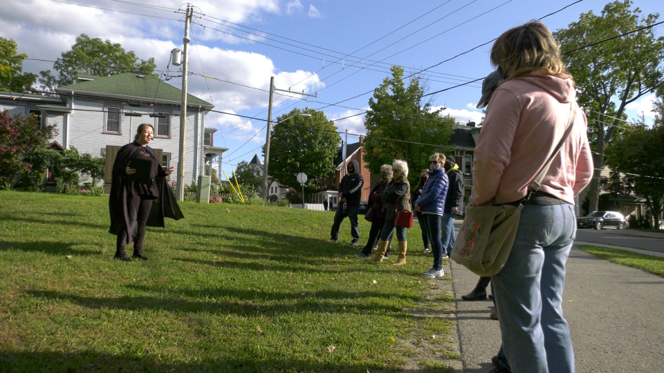 Brockville walking tour