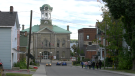 A maximum of 12 people can join each guided tour of the darker side of Brockville with the Brockville Museum. (Nate Vandermeer/CTV News Ottawa)