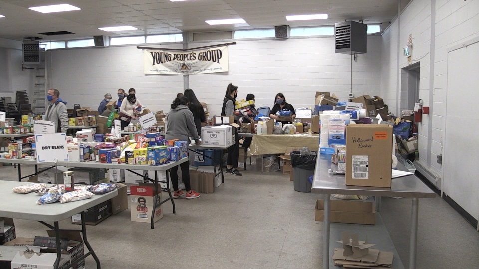 St. Vincent Place Food Bank marketing and fundrasing coordinator, Sara McCleary, says the tenth-annual drive has been relatively smooth, despite having to make some adjustments. Sept.19/20 (Christian D'Avino/CTV News Northern Ontario)