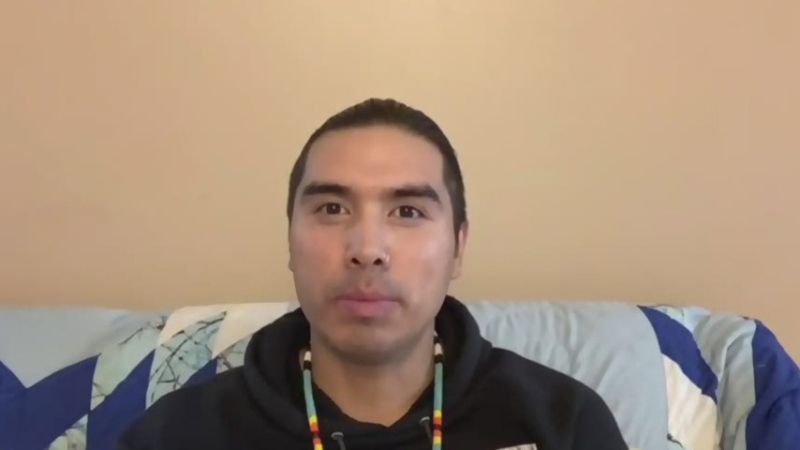James Jones, who goes by 'Notorious Cree'