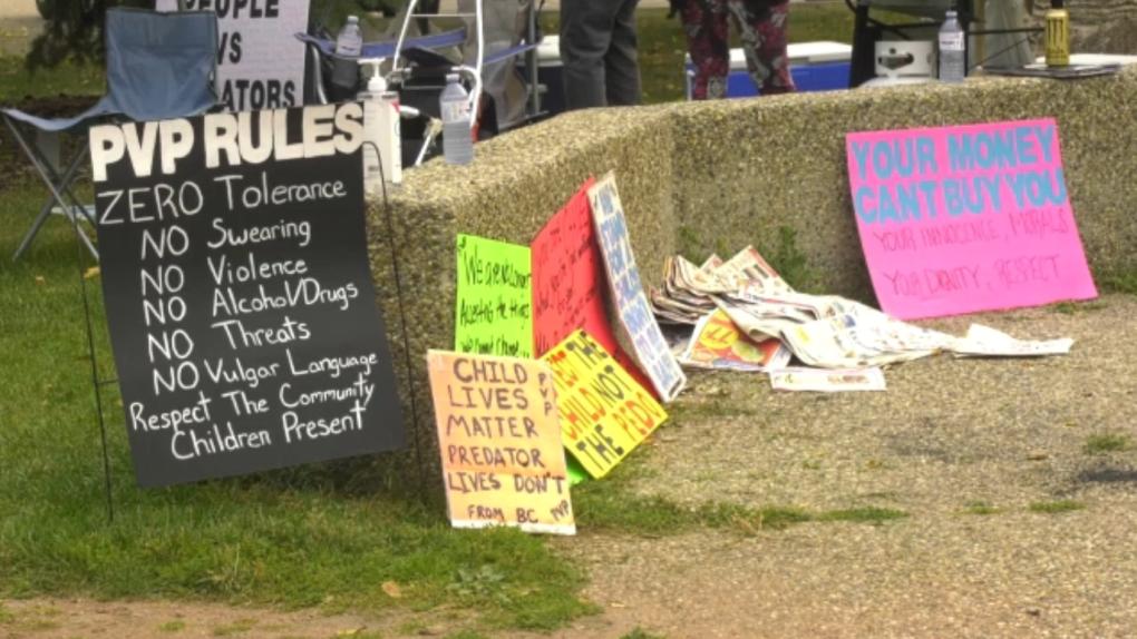 Biggar protest