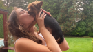 Sienna Leone of Vancouver was reunited with her dog Chilli after the Yorkie-Terrier went missing for 17 days.