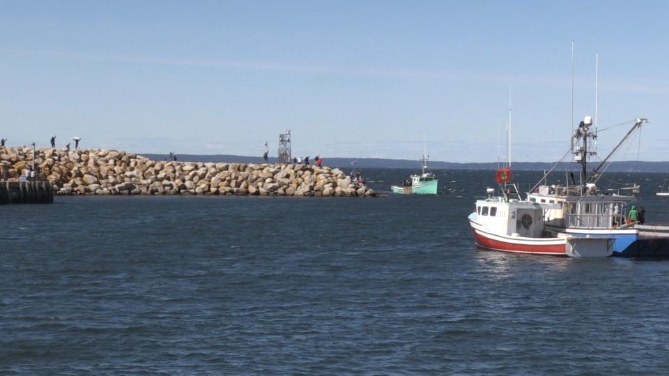Fishermen protest Saulnierville