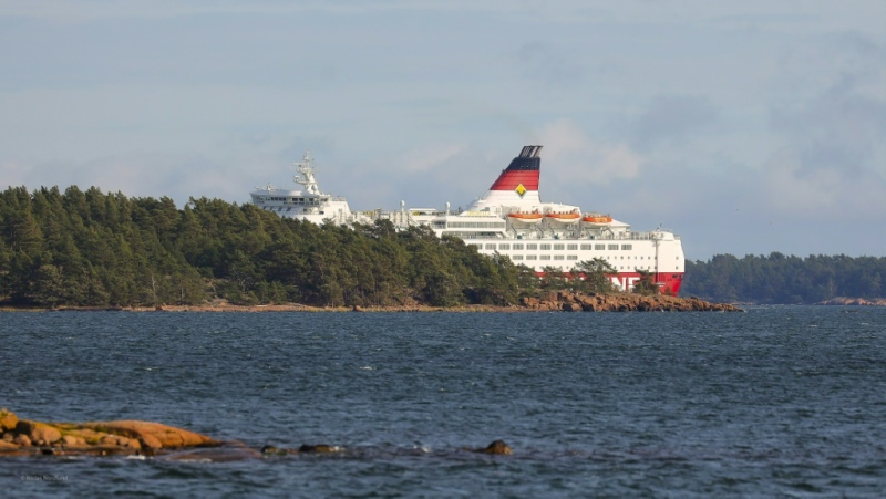 The Amorella does daily trips from Stockholm to Turku in Finland. (AFP)