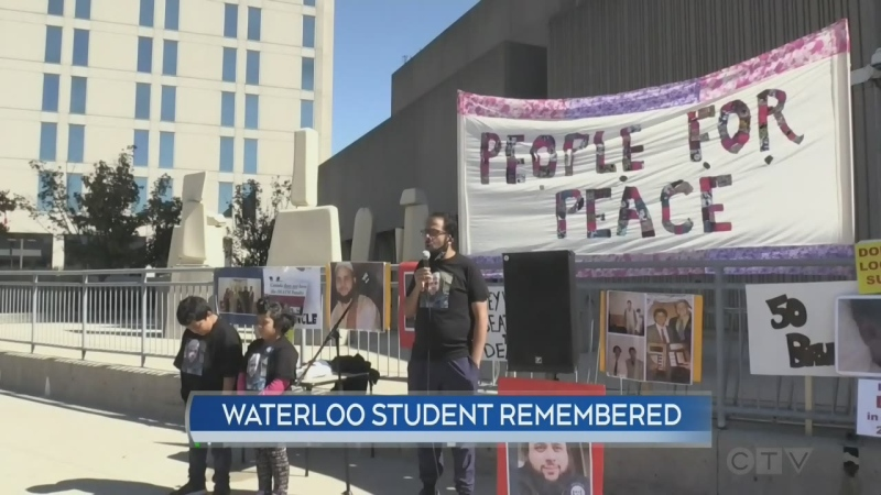 waterloo student remembered